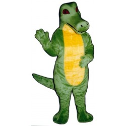 Crocodile Mascot Costume 102-Z