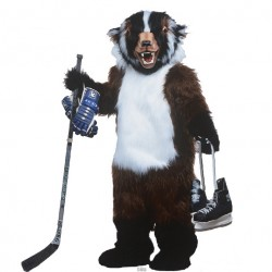 Badger Mascot Costume 107