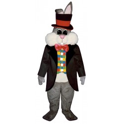 Bunny in Hat Mascot Costume 1110DD-Z