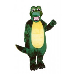 Happy Alligator Mascot Costume 142-Z