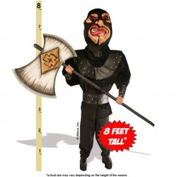 Executioner with Axe Mascot Costume 165