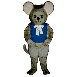 Maxi Mouse With Vest And Hat Mascot Costume 1814A-Z