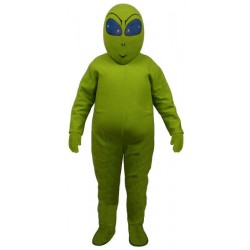 Green Alien Mascot Costume 2010-Z