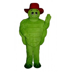 TommyTurtle w/ Hat Mascot Costume 120A-Z