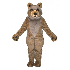 Mexican Grey Wolf Mascot Costume 1357-Z