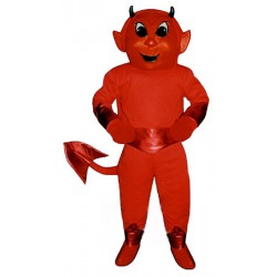 Cute Red Devil Mascot Costume 2029DD-Z