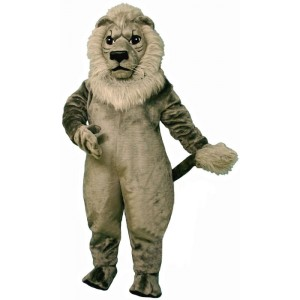 Old Grey Lion Mascot Costume 587-Z