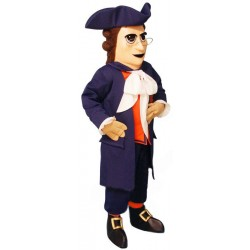 Colonial Man Mascot Costume 63DD-Z