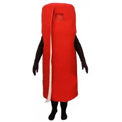 Rolled Red Carpet (Bodysuit not included) Mascot Costume FC103-Z