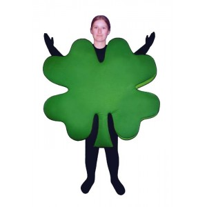 Four Leaf Clover  Mascot Costume (Bodysuit not included) PP70-Z