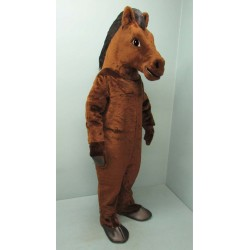 Brown Mustang Mascot Costume 1511B-Z