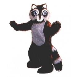 Raccoon Mascot Costume 17