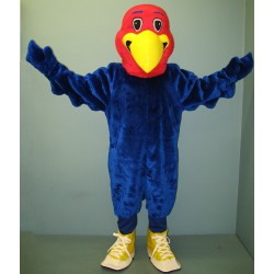 Crazy Eagle with Shoes Mascot Costume #1018B-Z