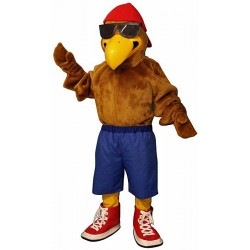 Rapper Eagle Mascot Costume #1018KK-Z