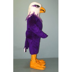 Purple Eagle Mascot Costume #1025-Z