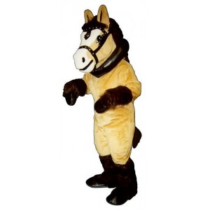 Clyde Clydesdale w/Collar & Harness Mascot Costume 1515A-Z