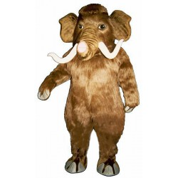 Mammoth with Long Tusks Mascot Costume 1625-Z
