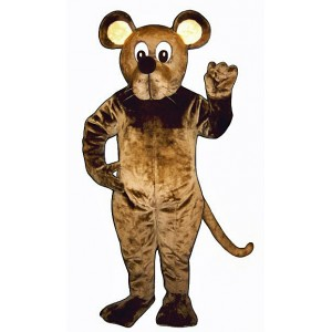 Brown Mouse Mascot Costume 1817-Z