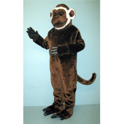 Bearded Monkey Mascot Costume 1917-Z