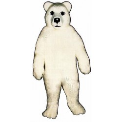 Polar Bear Mascot Costume 204-Z
