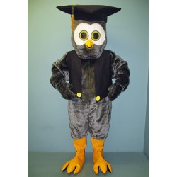 Educated Owl with Vest & Hat 2214A