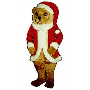 Red St. Bear Claws Mascot Costume 262RDD-Z