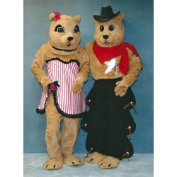Prairie Dawg Mascot Costumes 2811DDG and 2811DD
