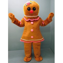 Gingerbread Girl Mascot Costume 2940-Z