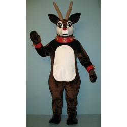 Blinker Deer w/ Lit-Up Nose, Collar & Cuffs Mascot Costume 3112A-Z