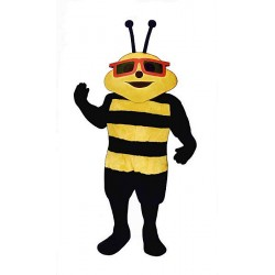 Sunny Bee with Glasses Mascot Costume 321A-Z