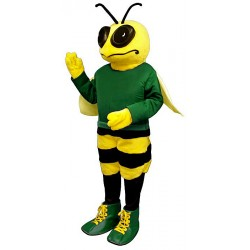 Billy Bee with Shirt and Shoes Mascot Costume 331A-Z