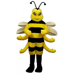 Royal Bee Mascot Costume 333-Z