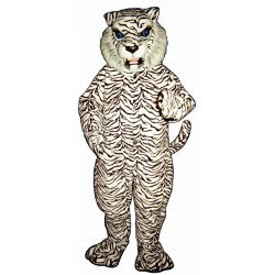 Blue Eyed White Tiger Mascot Costume 550-Z