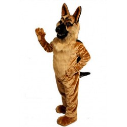 German Shepherd Mascot Costume 643
