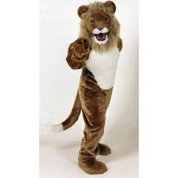 Power Real Cat Lion Mascot Costume #704M
