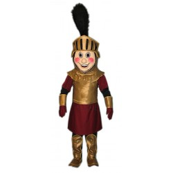Knight Mascot Maroon and Gold Costume MM25G-Z