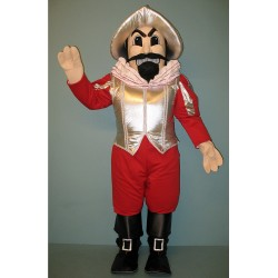 Red Conquistador Mascot Costume MM29-Z