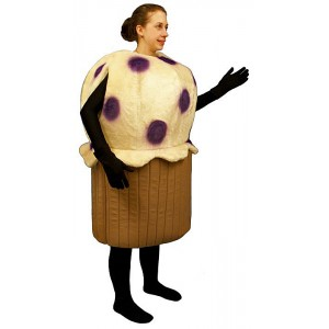 Blueberry Muffin  Mascot Costume (Bodysuit not included) PP83-Z