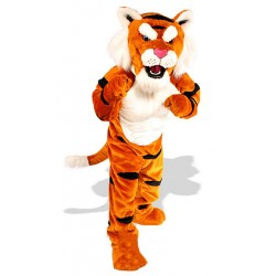 Power Tiger Mascot Costume 636