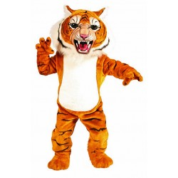 Power Super Tiger Mascot Costume 198