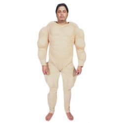 Muscle Suit Mascot Costume 20201M