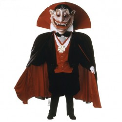 The Count Vampire Mascot Costume 229