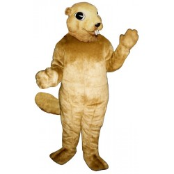 Squirrel with Teeth Mascot Costume 2802T-Z