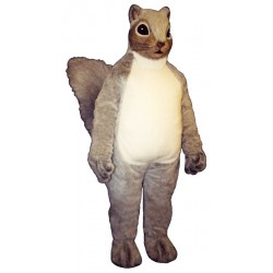 Squire Squirrel Mascot Costume 2843-Z