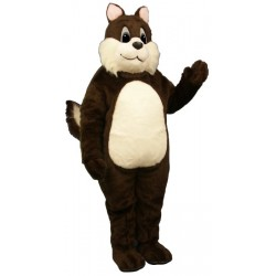 Sam Squirrel Mascot Costume 2844-Z