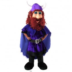 Friendly Viking Mascot Costume 286