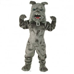Bully Bulldog Mascot Costume 409-QSD