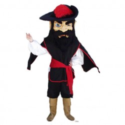 Fighting Cavalier Mascot Costume 422