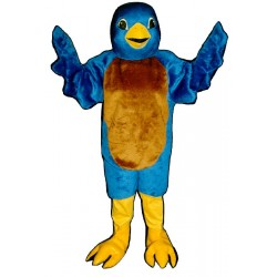 Blue Bird Mascot Costume 428-Z