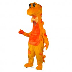 Candy Corn Dragon Mascot Costume 602